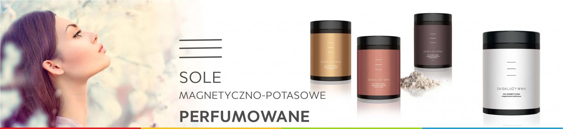 Sole magnetyczno-potasowe perfumowane z logo
