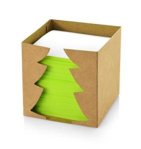Karteczki w świątecznym pudełku