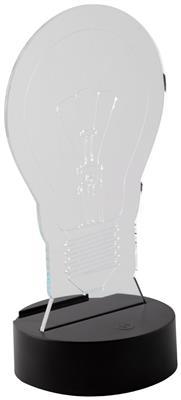 Trofeum z podświetleniem LED Ledify