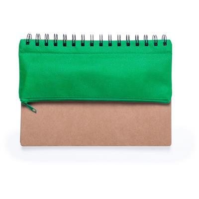 Zestaw szkolny, notatnik (puste kartki), piórnik