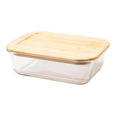 Lunch box Glasial 1000 ml, brązowy