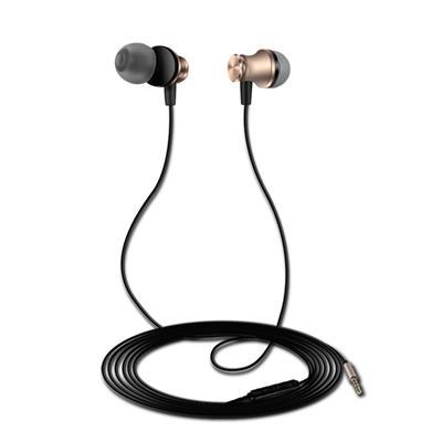 XO Słuchawki przewodowe S20 jack 3,5mm złote