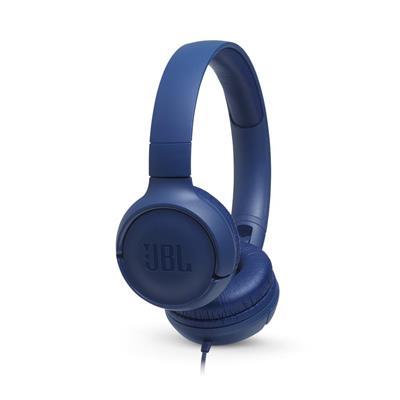 JBL słuchawki przewodowe nauszne T500 niebieske