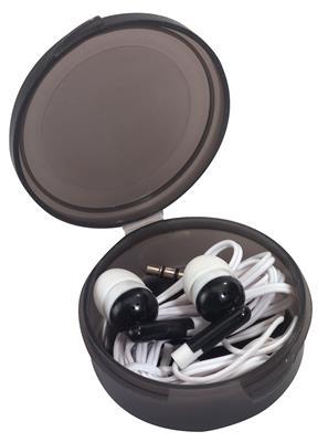 Słuchawki douszne, MUSIC, czarny