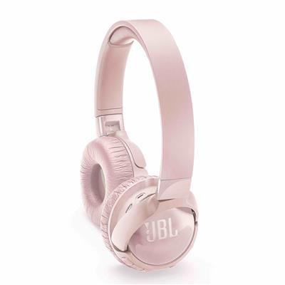 JBL słuchawki bezprzewodowe nauszne z redukcją szumów T600BT NC różowe
