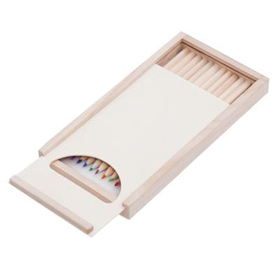Zestaw kredek Slide On z kolorowankami, brązowy