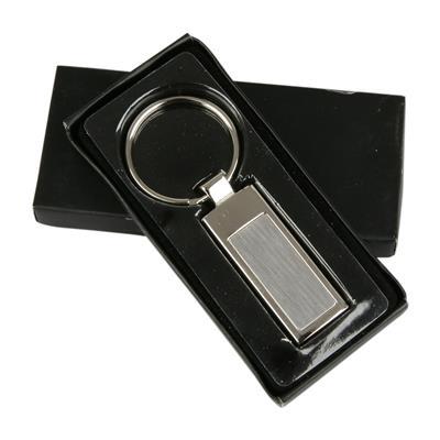 Prostokątny brelok do kluczy