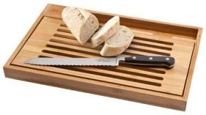 Deska do krojenia Bistro wraz z nożem do pieczywa