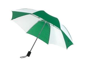 Parasol, REGULAR, biały/zielony