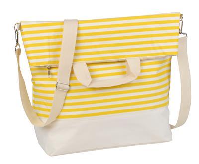 Torba plażowa JUIST, beżowa/żółta