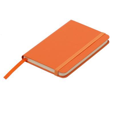 Notatnik 90x140/80k kratka Zamora, pomarańczowy