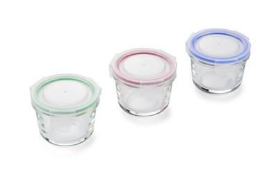 Zestaw słoiczków szklanych PESTO 3 x 120 ml