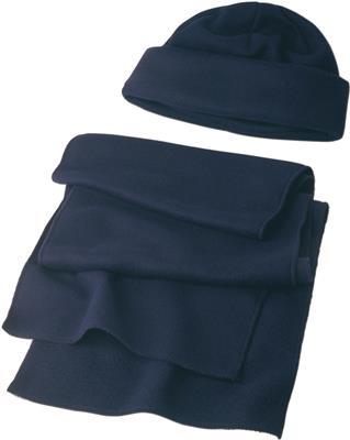 Zestaw zimowy, czapka i szalik-480858