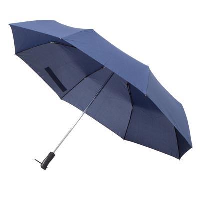 Składany parasol sztormowy Vernier, granatowy-548526