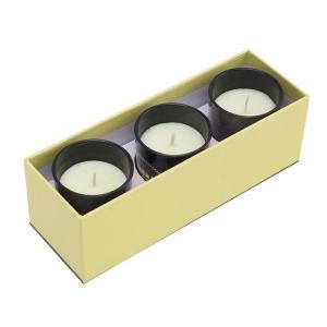 Zestaw świec zapachowych, beżowy-548737