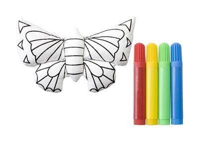 zabawka do pomalowania 3d w kształcie motyla Dranimal