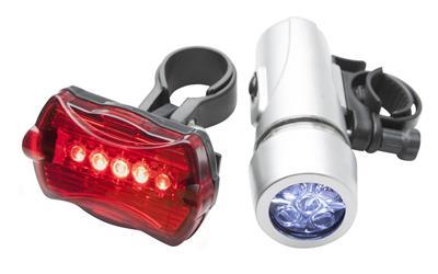 rowerowy zestaw oświetleniowy Wiggins