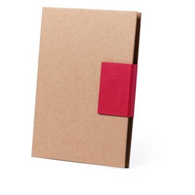 Zestaw do notatek, notatnik, karteczki samoprzylepne, długopis