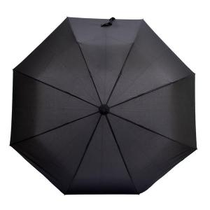 Składany parasol sztormowy Vernier, czarny-547907