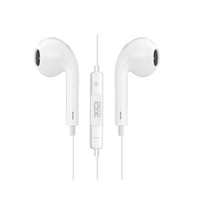 XO Słuchawki przewodowe S8 jack 3,5mm białe