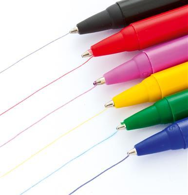 Zestaw długopisów, 6 szt.-668252