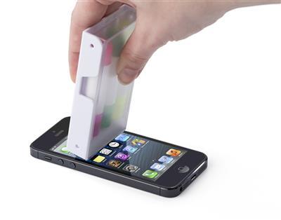 Zestaw zakreślaczy, stojak na telefon, czyścik do ekranu-477190