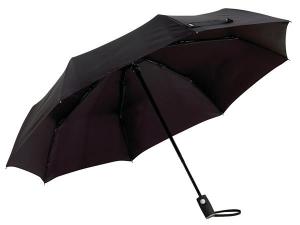 Składany parasol ORIANA, czarny