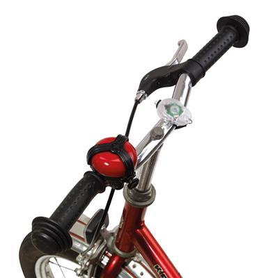 Zestaw lampek rowerowych, SMART LIGHTS, biały/czerwony