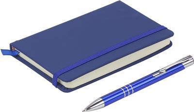 Zestaw upominkowy, notatnik z długopisem-499793