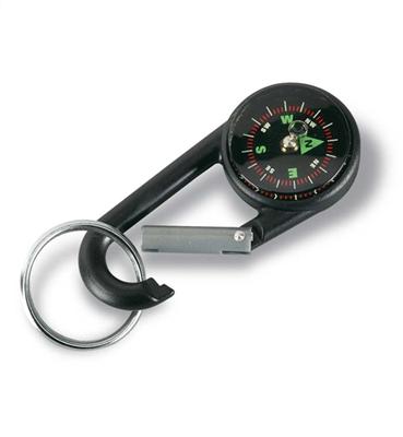 Karabinek z kompasem, brelok   KC2054-03
