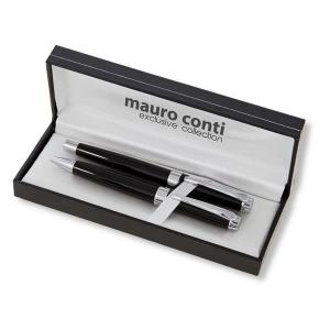 Zestaw piśmienny Mauro Conti, długopis i pióro kulkowe