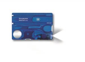 SwissCard Lite niebieski transparentny