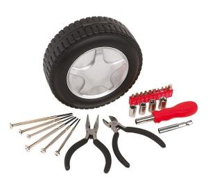 Zestaw narzędzi, ROLL FORWARD, czarny/srebrny-597966
