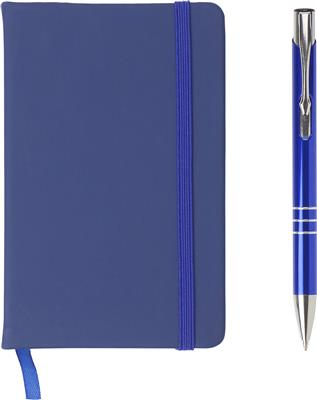 Zestaw upominkowy, notatnik z długopisem-499791