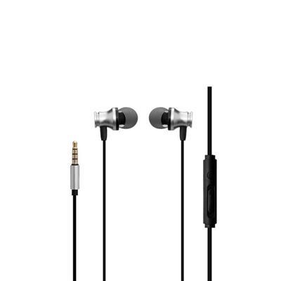 XO Słuchawki przewodowe S20 jack 3,5mm srebrne