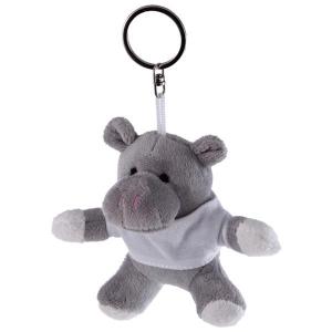 Iggy, pluszowy hipopotam, brelok