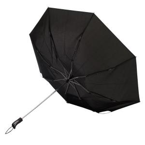 Składany parasol sztormowy Vernier, czarny-547908