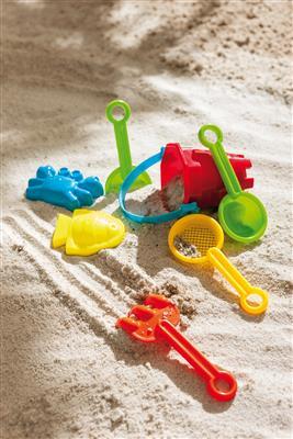 Zestaw na plażę, BEACHLIFE, wielokolorowy-599389