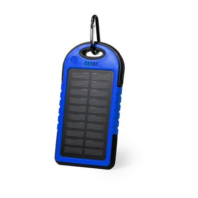 Wodoodporny power bank 4000 mAh, ładowarka słoneczna