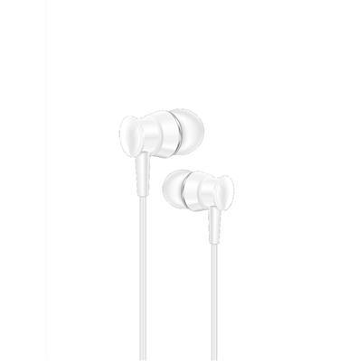 XO Słuchawki przewodowe S25 jack 3,5mm biała
