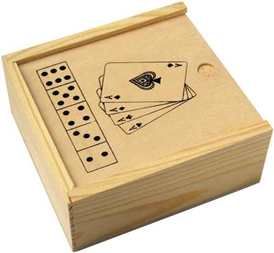 Zestaw gier: karty i kości