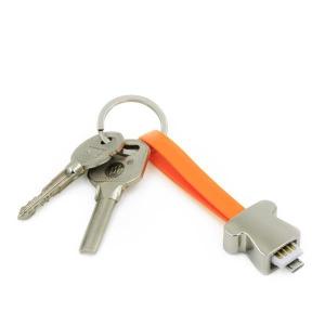 Kabel do transferu danych w kształcie breloczka
