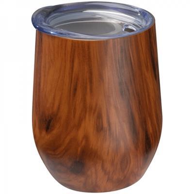Kubek z motywem drewna BRIGHTON