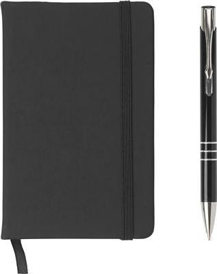 Zestaw upominkowy, notatnik z długopisem