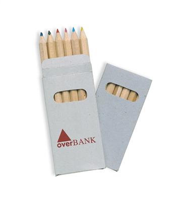 6 kolorowych ołówków           KC2478-99
