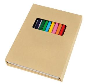 Zestaw do kolorowania COLORFUL BOOK, brązowy