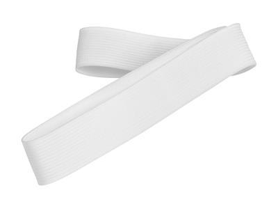 Wstążka kapeluszowa PUT AROUND, biała-631930