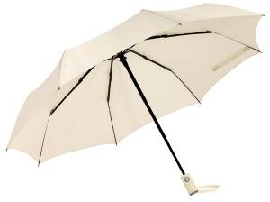 Składany parasol ORIANA, jasnobeżowy