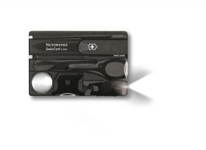 SwissCard Lite czarny transparentny