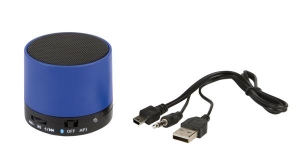 Głośnik Bluetooth NEW LIBERTY, niebieski